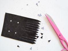 Tutos DIY : Les franges à paillettes pour chaussures