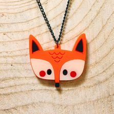 Doodllery Necklace - Fox