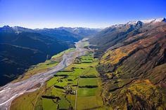 Kakarora River, valley leading to the Haast Pass, see more, learn more, at New Zealand Journeys app for iPad www.gopix.co.nz