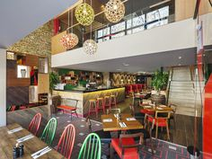 Chimichanga Mexican restaurant by Brown Studio, Billericay   UK hotels and restaurants
