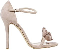 Love this: Shoes Heel 9 1 Sandal Suede Fiore  #wedding #weddingdream123