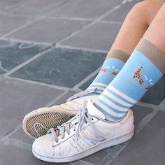 Bamboo socks with a luxurious fit Bamboo Socks, Sexy Socks, Cute Giraffe, Yellow And Brown, Baby Blue, Pairs, Legs, Stylish, Sneakers