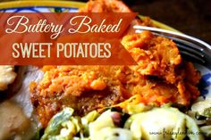 Buttery Baked Sweet Potatoes-- Perfect for Thanksgiving