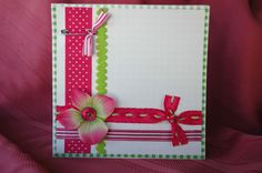 Cute layout for scrapbooking or cards