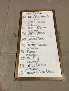 CG Workout