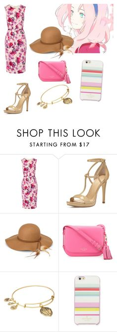 """sakura"" by levatzy-pandita ❤ liked on Polyvore featuring Goat, MICHAEL Michael Kors, Steve Madden, Kate Spade and Alex and Ani"