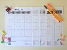 Planner Mensal 2017   Bangalô da Tati