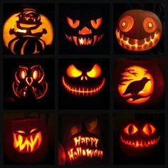 halloween jack o lantern designs