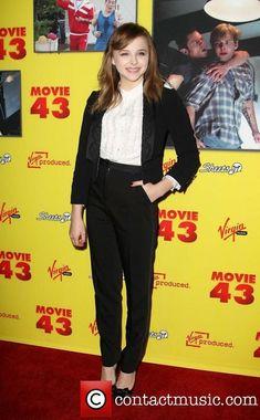 CHLOE MORETZ MOVIE 43 PREMIERE | Picture - Chloe Grace Moretz | Photo 3465204 | Contactmusic.com