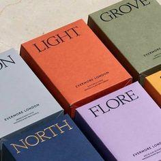 Evermore London Candles - Fonts In Use Branding And Packaging, Candle Packaging, Tea Packaging, Beauty Packaging, Print Packaging, Packaging Ideas, Business Branding, Mockup Design, Logo Design