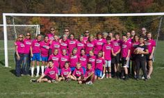 #RushSoccer supporting Breast Cancer Awareness Month 2013.