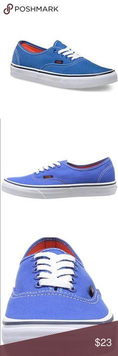 Vans Authentic Pop strong blue/ Nasturtiums' 123 Vans Shoes Sneakers