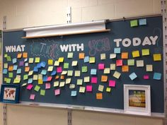 """""""What stuck with you today?"""" An alternative to the exit slip from @Imanewteacher on Twitter."""