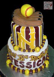 softball graduation cakes - Google Search