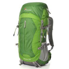 Amazon.com: Mountaintop Outdoor Waterproof Hiking Climbing Backpacks 50l Blue
