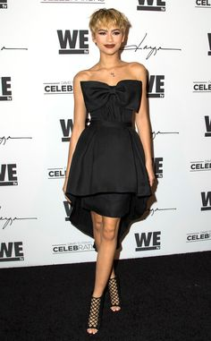 Zendaya is shakingup her style! The 19-year-old actress recently debuted ablond pixie cut hairs...