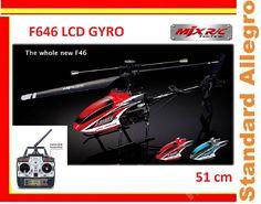 Mega Helikopter F646 4ch 2,4Ghz Gyro LCD MJX 51cm
