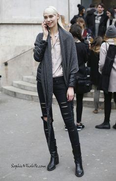 #feifeisun #carven #skirt #chinese #supermodel #fashion # ...