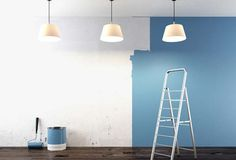 Pintar uma parede é uma forma simples de mudar a decoração de algum ambiente