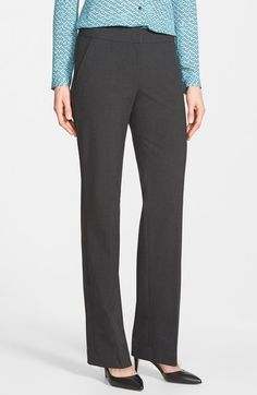 Halogen® 'Taylor' Stretch Suit Pants (Regular & Petite) available at #Nordstrom