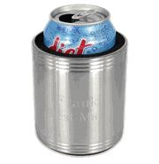 Personalized Stainless Steel Can Cooler #Groomsmen #Gift #wedding cheapgroomsmengifts.com