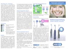 Ultraschallreinigung der Zähne - emmi-dent Flyer 1