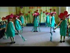 """Taniec kwiatów do muzyki P.Czajkowskiego """"Walc kwiatów"""" w wykonaniu dziewczyn z grupy """"Starszaki"""" z Przedszkola nr 10 w Lęborku pod kierunkiem nauczycielki A..."""