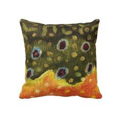 Trout Fly Fishing Pillows