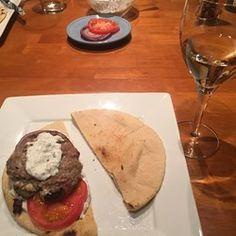 Greek Lamb-Feta Burgers With Cucumber Sauce - Allrecipes.com