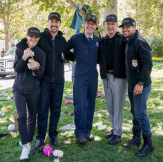 This photo + a new = lots of 😀's Ncis Characters, Joe Spano, Ncis Tv Series, Ralph Waite, Leroy Jethro Gibbs, Ncis Cast, Lauren Holly, Sean Murray, Cute Animals Images