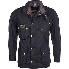 8d3a3a193e6 Barbour International Original Waxed Jacket is a heavyweight waxed cotton  belted jacket with a heritage that dates back to this incredible garment,  the fo