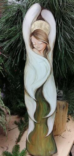 An Art: Czas odpocząć Mermaid Drawings, Art Drawings, Baby Boy Cupcakes, Beaded Angels, Angel Drawing, Mother Art, Angel Art, Art Pictures, Creative Art