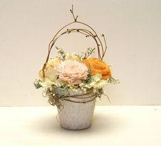 Sola Flower Centerpiece Wedding Decoration by treasuredflorals, $17.50 etsy