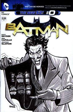 Joker SketchCover #comics #dccomics #batman #thedarkknight #joker #sketchcover #sketch #sketchamadoodle #joelgomez