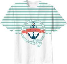Nautical Aqua- Crew