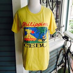 Vibrant vintage 1980's Philippines touristy by CerealVintageThrift, $14.00