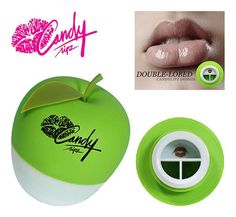 Bekend van TV: Candy Lipz Green (double Lobed style)