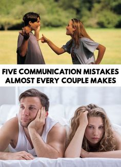 Being in a relationship means lots of communication, it is the key to having a successful relationship. 5 Communication Mistakes Almost Every Couple Makes!
