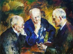 Lund, Henrik - 1926 Portrait of Norwegian Composer Christian Sinding and Authors Gunnar Heiberg and Knut Hamsun (National Gallery, Oslo, Norway) Lund, Anton, National Theatre, Ludwig, Historian, First World, Printmaking, Norway, Christian