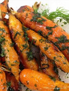 Honey Roasted Dill Carrots - Through Her Looking Glass