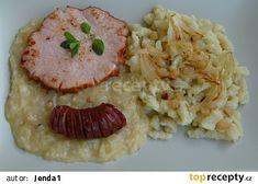 Radhošťské halušky Gnocchi Recipes, Risotto, Healthy Recipes, Ethnic Recipes, Anna, Food, Essen, Healthy Eating Recipes, Meals