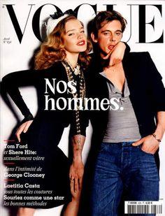 Natalia Vodianova and Werner Schreyer, photo by Mario Testino, Vogue Paris, April 2003*