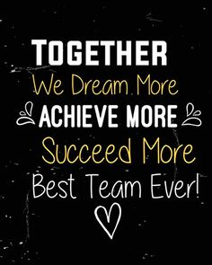 Inspirational Teamwork Quotes, Motivational Quotes For Employees, Team Quotes, Appreciation Images, Employee Appreciation Gifts, Employee Gifts, Good Morning Inspiration, Work Inspiration, Positive Words
