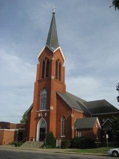 Trinity Lutheran, Evansville, Indiana.-- #IndianaMustSee