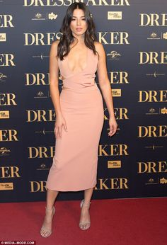 A-list guest list: Among the guests at the star-studded premiere was Sports Illustrated model Jessica Gomes