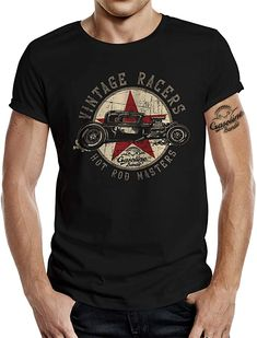Geiles Shirt  Bekleidung, Herren, Tops, T-Shirts & Hemden, T-Shirts Geile T-shirts, Summer Wear, Rockabilly, Cool T Shirts, Hot Rods, Casual Wear, Mens Tops, Vintage, Fashion