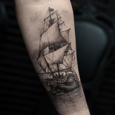 Boat tattoo - 100 Boat Tattoo Designs  <3 <3