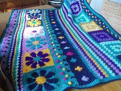 Nell's Blanket #crochet