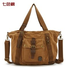 Aliexpress.com : Buy Hot Sale!! Men  Women Canvas Messenger Shoulder Bag,Handbag, Free Shipping from Reliable Canvas Bag suppliers on Beauty Your Life Co.,Ltd $68.98