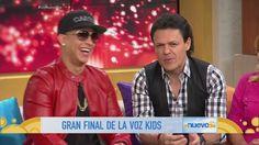 Pedro Fernández y Daddy Yankee hablan de su trayectoria en La Voz Kids (VIDEO)